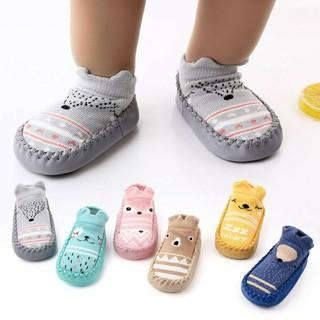 Giày vớ tập đi chống trượt đáng yêu cho bé trai/bé gái