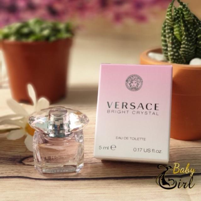 [Bill MỸ] Nước Hoa Mini nữ Versace Bright Crystal 5ml