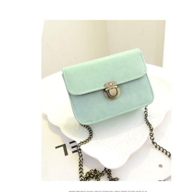 Túi xách thời trang mini cao cấp đeo chéo