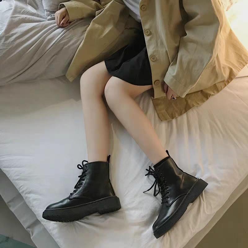Giày da cao cổ thời thượng 2020