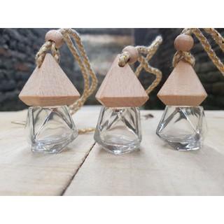 Vỏ lọ tinh dầu treo xe lục giác siêu đẹp thumbnail