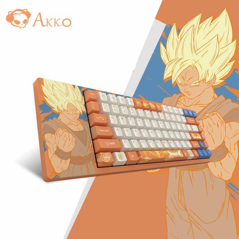 [Mã ELTECHZONE giảm 5% đơn 500K] Bàn phím cơ AKKO Dragon Ball Super – ACG84 (Cherry switch)
