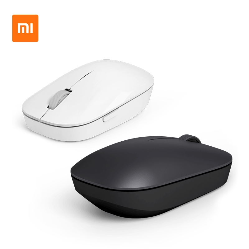 wireless mouse□☾▲Xiaomi Wireless mouse notebook desktop computer mini portable Power Saving Youth Edition office home