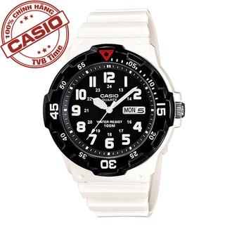 Đồng hồ nam dây nhựa Casio Standard chính hãng Anh Khuê MRW-200HC-7BVDF (44mm)