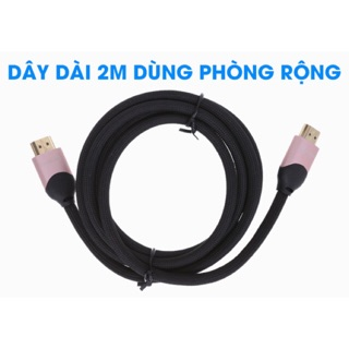 Cáp HDMI 2.0 Tròn 2.0m Xmobile DS204-WB