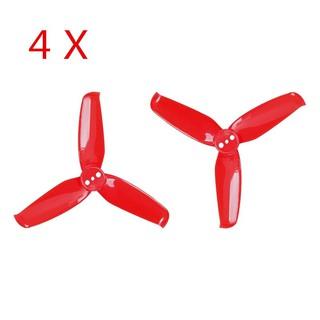 4 cặp cánh quạt 3 cánh với lỗ cắm 1.5mm Gemfan Flash 2540 2.5 Inch