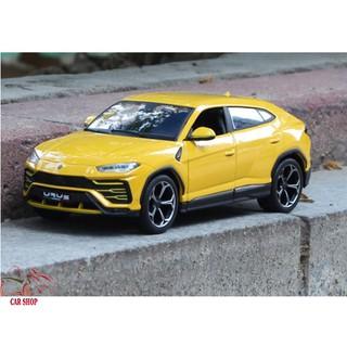 Xe mô hình SUV-Lamborghini Urus Maisto tỉ lệ 1:24 màu vàng
