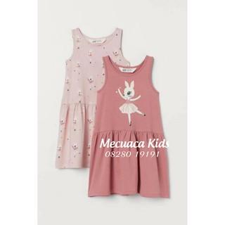 Váy ba lỗ cotton/3 lỗ cho bé/bé gái xuất dư1