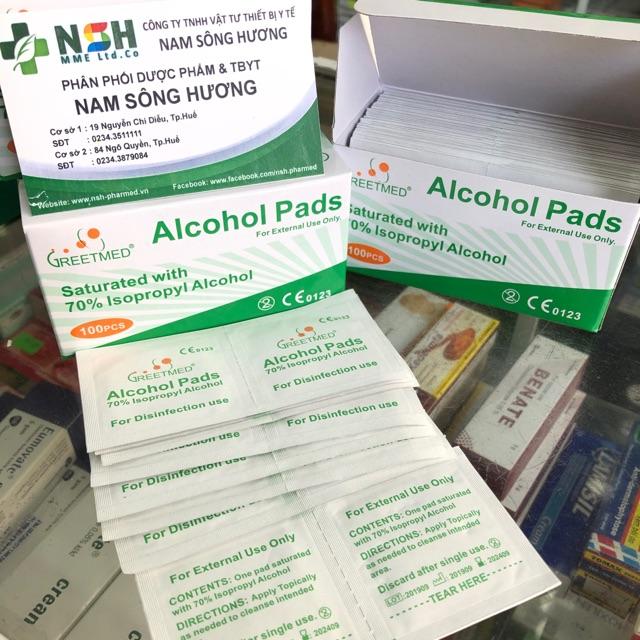 Hộp 100 miếng Gạc tẩm cồn sát khuẩn, bông tẩm cồn y tế tiệt trùng sát trùng, cồn khô alcohol pads - 21953188 , 6711614062 , 322_6711614062 , 20000 , Hop-100-mieng-Gac-tam-con-sat-khuan-bong-tam-con-y-te-tiet-trung-sat-trung-con-kho-alcohol-pads-322_6711614062 , shopee.vn , Hộp 100 miếng Gạc tẩm cồn sát khuẩn, bông tẩm cồn y tế tiệt trùng sát trùng,