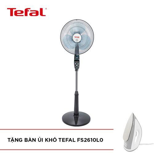 [ELHAF300 giảm tối đa 300K] Quạt đứng Tefal VF3650-71 (Nâu) - Tặng Bàn ủi khô TEFAL FS2610L0