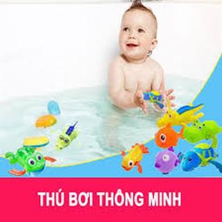 Thú bơi thông minh cho bé (vặn cót) loại to