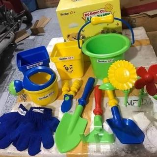 Bộ đồ chơi dụng cụ làm vườn