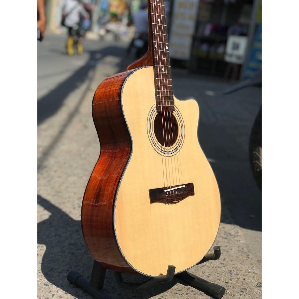 Guitar Acoustic Gỗ Nguyên tấm GV850PST