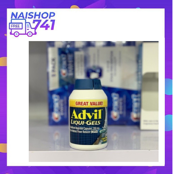 Viên Uống Advil_Liqui-Gels 160VIÊN