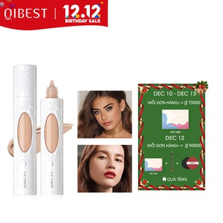 QIBEST Foundation Light Fresh Liquid Natural Smooth Waterproof 7 Colors Face Makeup 71g thumbnail