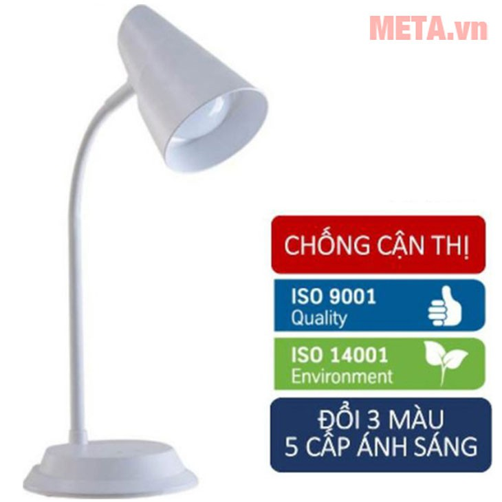 Đèn bàn LED cảm ứng Rạng Đông RD-RL-23.LED