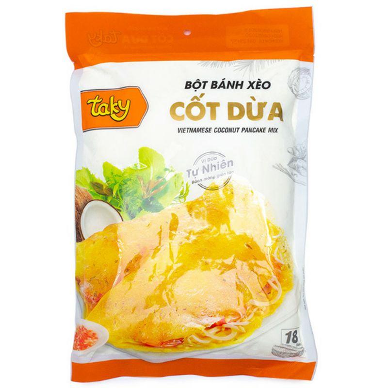 [Nhiều loại] Bột Bánh Xèo Cốt Dừa TAKY 500g