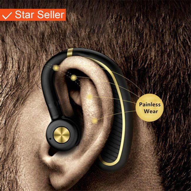 Wireless Bluetooth Headset Sports Earphone for iPhone Samsung