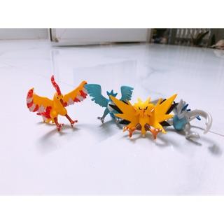 Set mô hình tĩnh Pokemon Legendary Birds chim huyền thoại