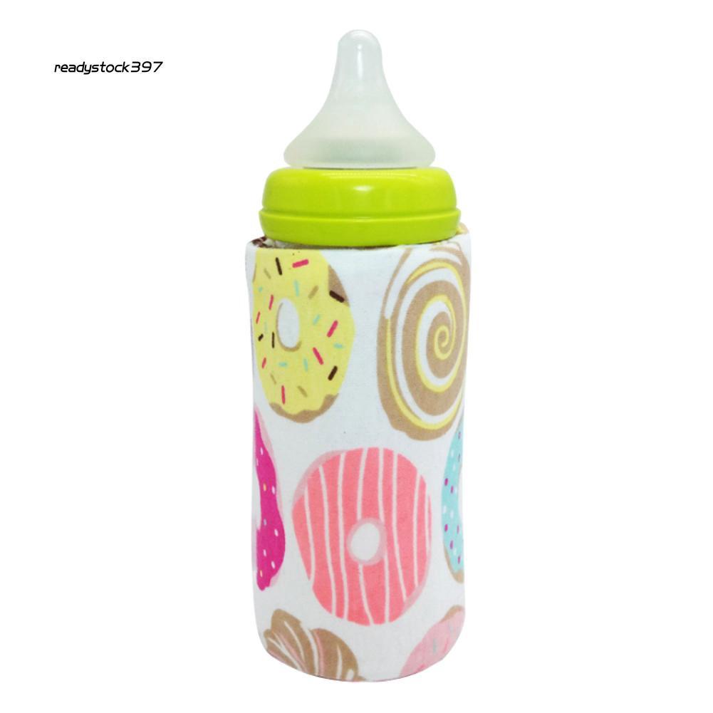 RDSK_Portable USB Baby Milk Bottle Warmer Heater Coffee Tea Mug Beverage Warming Bag