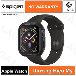 Ốp Lưng Apple Watch 38mm / 40mm / 44mm Spigen Rugged Armor Series SE / 6 / 5 / 4 / 3 / 2 / 1