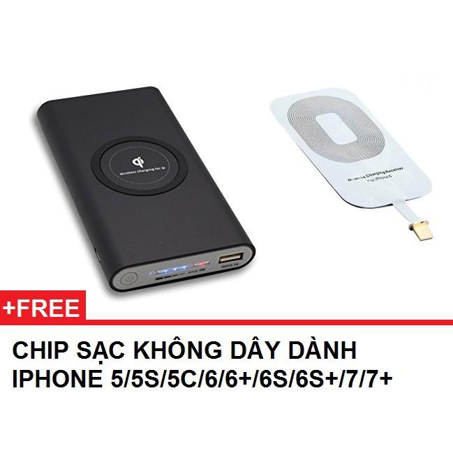 Sạc dự phòng không dây chuẩn Qi tặng kèm 1 chip sạc cho iphone 5/5S/5C/6/6+/6S/6S+/7/7+ - 2547079 , 1207902893 , 322_1207902893 , 249000 , Sac-du-phong-khong-day-chuan-Qi-tang-kem-1-chip-sac-cho-iphone-5-5S-5C-6-6-6S-6S-7-7-322_1207902893 , shopee.vn , Sạc dự phòng không dây chuẩn Qi tặng kèm 1 chip sạc cho iphone 5/5S/5C/6/6+/6S/6S+/7/7+