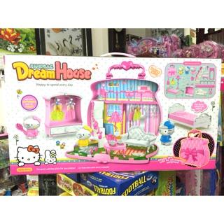 Túi xách phòng ngủ của Hello Kitty