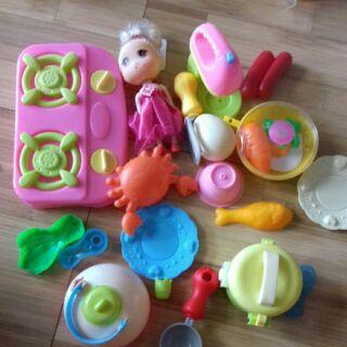 (sỉ)Bộ đồ chơi nấu ăn nhiều chi tiết