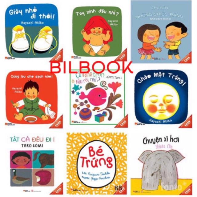 Sách - Combo 9 cuốn Ehon Nhật Bản cho bé 0-6 tuổi (Tủ sách người mẹ tốt)