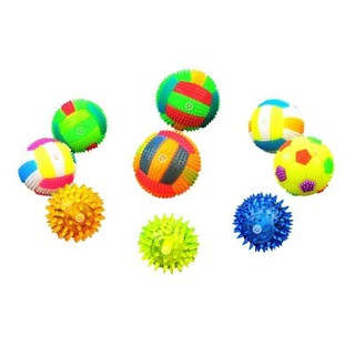 💕Pentagon💕Baby Kids Light-up Toy Volleyball Cute Funny Bouncing Balls Luminous Gift Toys