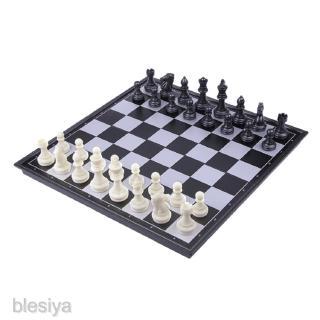 12.6×12.6″ Plastic Magnetic Chess Set Folding Chessboard International Chess Set