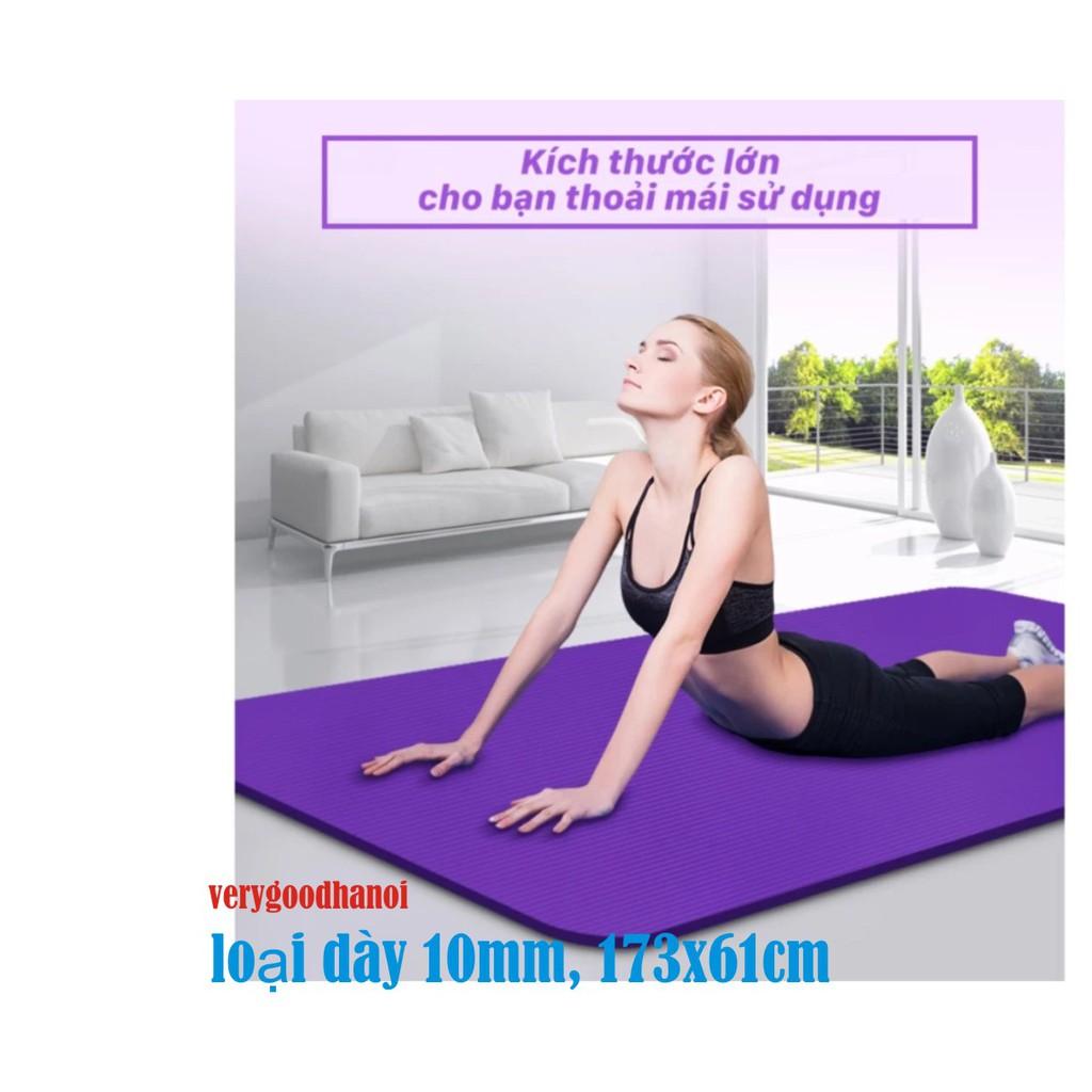 Thảm tập Yoga siêu bền loại dày 10m (CÓ TÚI ĐỰNG)