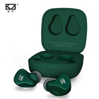 KZ Z1 TWS True Wireless Bluetooth 5.0 Earphones Dynamic Game Earbud Touch Control Sport Headset KZ Z3 S2 S1