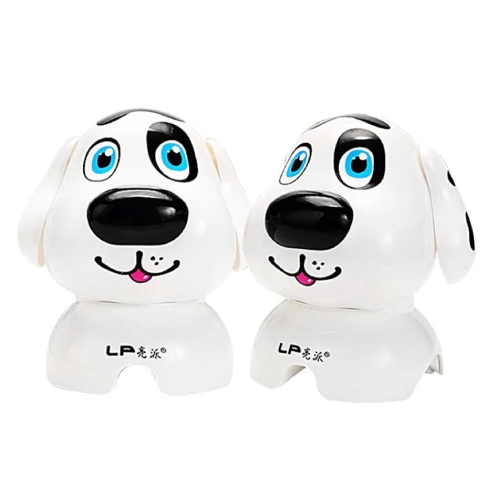 Loa máy tính hình chú cún LP Q7 (Trắng) -dc2431trắng