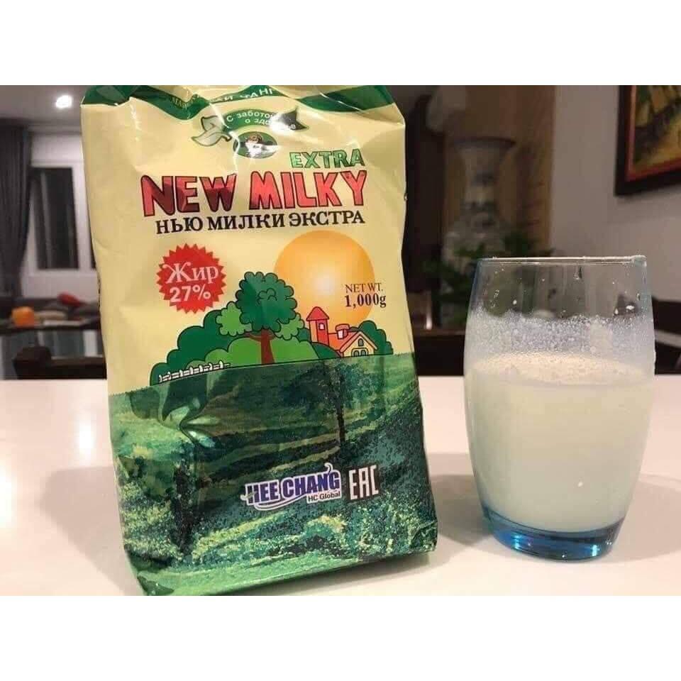 Sữa tươi khô - Sữa tươi cô đặc dạng bột.