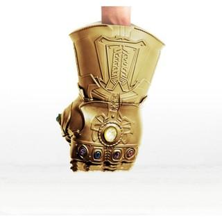 Bộ đồ chơi găng tay thanos có đèn nhạc (kèm pin)