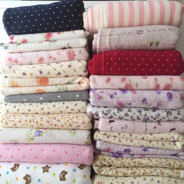 Vải cotton chần bông - 3208780 , 409376447 , 322_409376447 , 200000 , Vai-cotton-chan-bong-322_409376447 , shopee.vn , Vải cotton chần bông