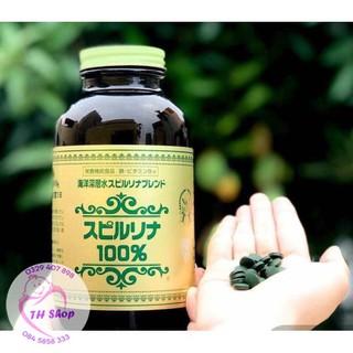 Viên Uống Tảo Xoắn Spirulina Nhật Bản 2200 Viên, Tảo Nhật [Date Xa] thumbnail
