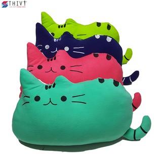 Gối Cho Bé Đi Xe Máy Tạo Hình Chú Mèo - THIVI