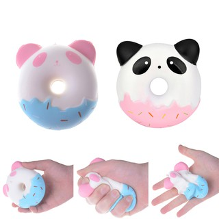 ❀❀10cm Panda Donuts Soft Squeeze TOY Jumbo Squishy Slow Rising Kid Toys Gift