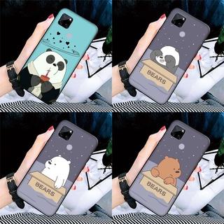 Silicone Case VIVO S1 Y95 Y93 Y91 Y91I Y91C Y89 Y85 Y81 Y81S Y55 Y55S Y53 Y50 Y30 V9 Pro We Bare Bear Cartoon Cover