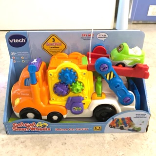 Đồ chơi Vtech go go smart wheels deluxe car carrier