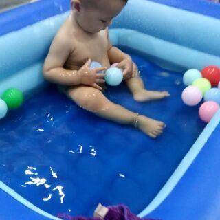 Bể bơi 1m2 thanh lý kèm 10 bóng