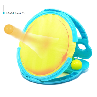 Throw and Catch Sports Game Set with Glove Ball Outdoor Toys