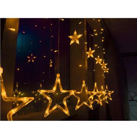 Đèn led rèm nháy Ngôi sao 2,5m đèn 138 led 12 ngồi sao 6 lớn 6 nhỏ - 14867182 , 2505024711 , 322_2505024711 , 200000 , Den-led-rem-nhay-Ngoi-sao-25m-den-138-led-12-ngoi-sao-6-lon-6-nho-322_2505024711 , shopee.vn , Đèn led rèm nháy Ngôi sao 2,5m đèn 138 led 12 ngồi sao 6 lớn 6 nhỏ
