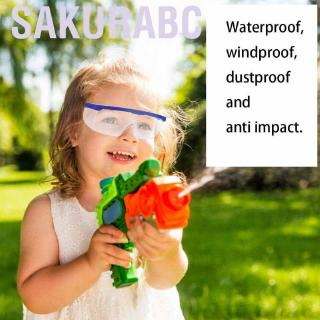 Sakurabc Children Shooting Goggles Games Sprayer Water Eye Protective goggles