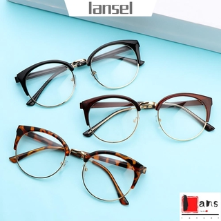 ❤LANSEL❤ Fashion Optical Glasses Computer Eyewear Retro Spectacles Frames Men Women Clear Lens Vintage Anti-fatigue Eyeglasses/Multicolor
