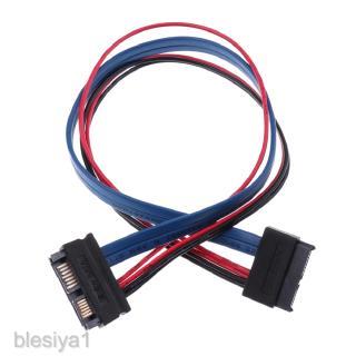 11.8\'\' SATA 13P Male Plug to SATA 7 + 6 Pin Female Cable Extension Line