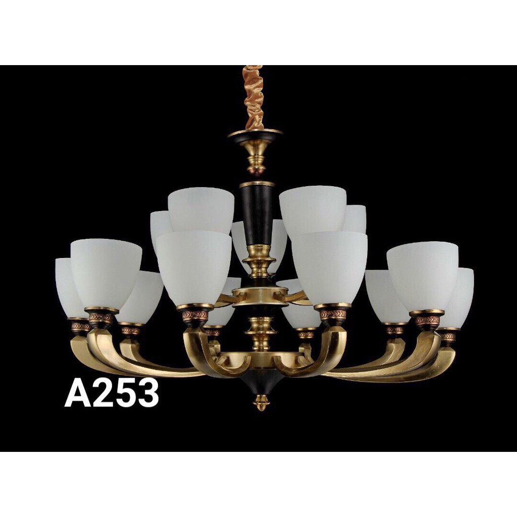 Đèn chùm MONSKY CASOPI 15 tay hiện đại tiết kiệm năng lượng - A253