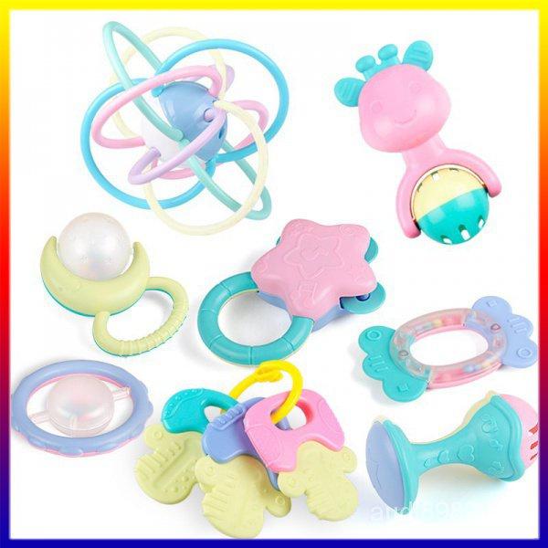 Set 11 đồ chơi lục lạc ngậm mọc răng cho bé